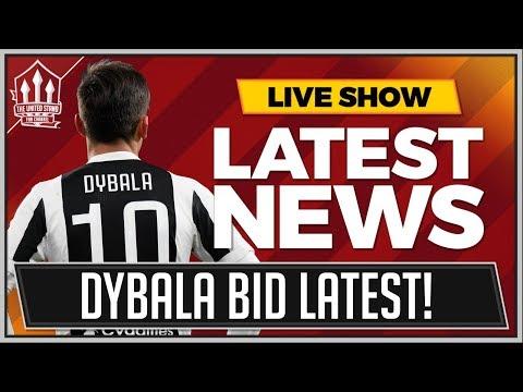 Manchester United BID 70 Million for Paulo DYBALA! MAN UTD Transfer News