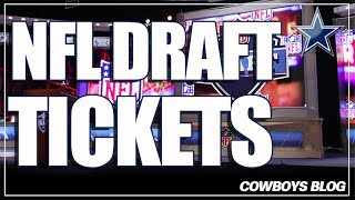2018 NFL Draft Tickets