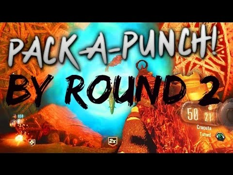 bo3 how to get pack a punch on round 1