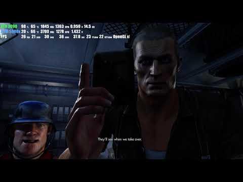RTX 3090 | Wolfenstein The Old Blood | max graphic 8K |