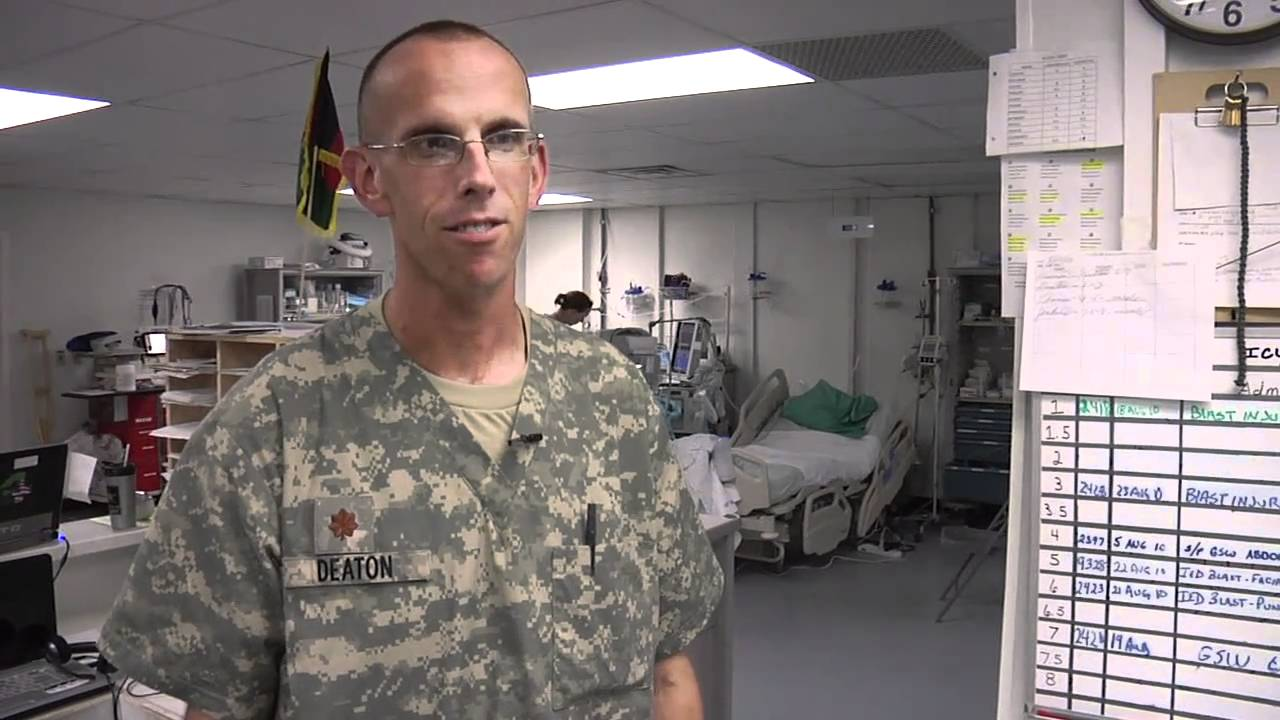 Navy Nurse at Forward Hospital in Afghanistan - YouTube