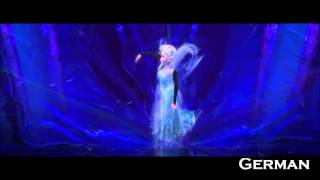Repeat youtube video Frozen: Let It go -  One line multilanguage (30 languages)