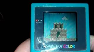 SUPER MARIO BROS. Deluxe [GameboyColor] - Gameplay [GBColor]