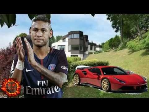 NEYMAR JR  Vive Como Gran Rey en PARÍS FRANCIA | En su Nueva Mansión