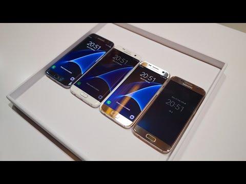 Samsung Galaxy S7 Kutusundan Çıkıyor / Galaxy S7 Unboxing