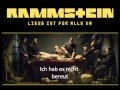 Rammstein Frühling in Paris (lyrics)