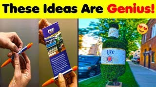 These Ads Ideas Are Just Genius! 😍💕