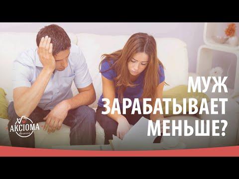 Что делать, если муж зарабатывает меньше жены? | Аксіома кохання [27/16]