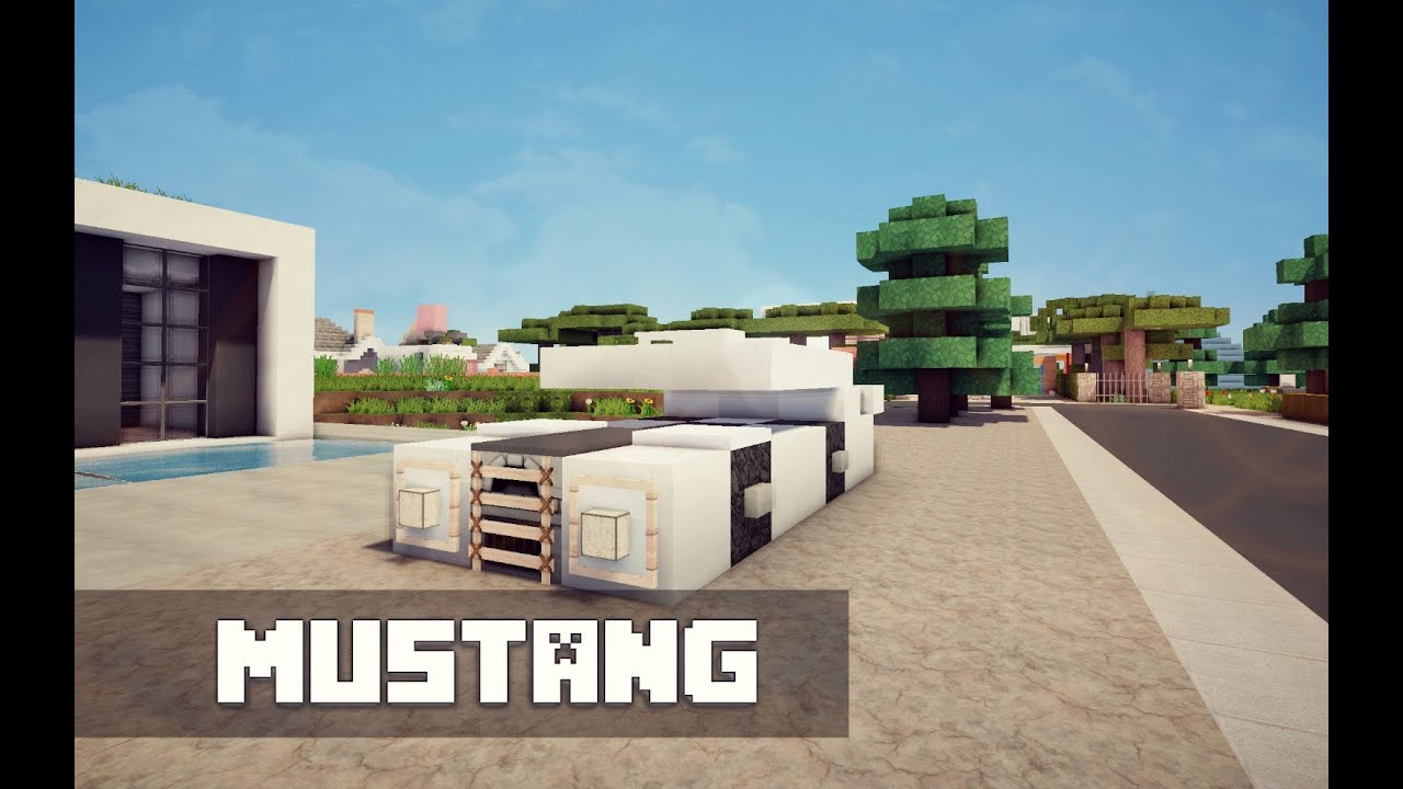 How To Build A Mustang In Minecraft