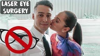 AIRLINE CREW GET LASER EYE SURGERY