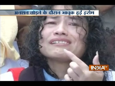 Irom Sharmila Wants to Be the CM of Manipur to Help People, Ends 16-years Long Fast