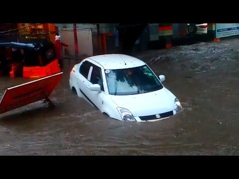 Floods in Ameerpet | Heavy Rain in Hyderabad - India | Allbook