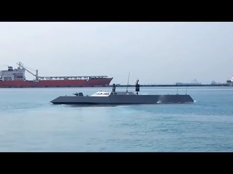 Singapore Navy's high speed stealthy naval interceptor