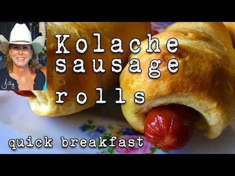 Sausage Kolache Recipe - Sausage in a Biscuit Blanket ~ Texas Kolache