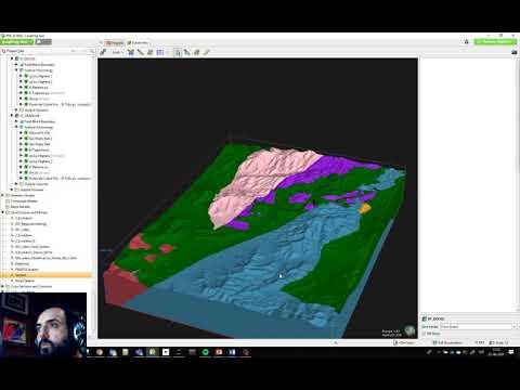 Geología Regional en 3D: Modelamiento Implícito en Leapfrog GEO