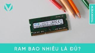 Laptop của bạn cần bao nhiêu RAM là đủ?   ThinkView