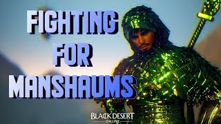 Fighting for Manshaums!
