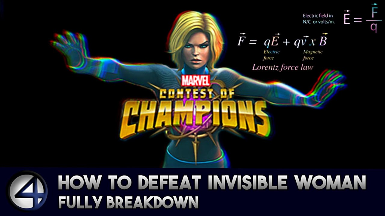 How to defeat Invisible Woman (Uncollected) Fully Breakdown - Marvel