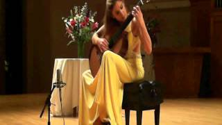 Ana Vidovic - F.Sor Introduction & Variations on a theme by Mozart