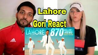 LAHORE | GURU RANDHAWA | PUNJABI SONG