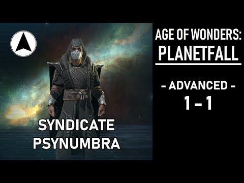 Age Of Wonders Planetfall Advanced 1-1: McDarkside Returns!