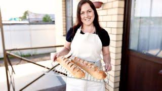 Настоящий Французский Багет Рецепт Вкусного Домашнего Хлеба от Юлии Коноваловой