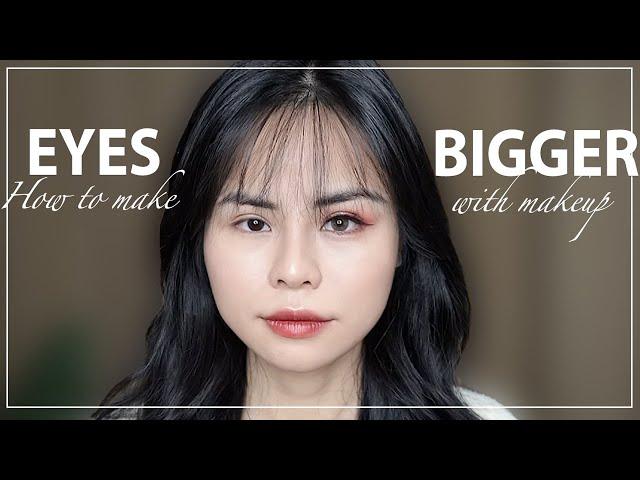 [Tuta. Nguyen] Trang Điểm Để Mắt To Hơn♡How To Make Yours Eyes Look Bigger ♡Tuta.nguyen