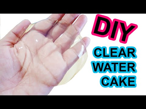 How To Make Clear Water Cake - Easy DIY by Bum Bum Surprise Toys