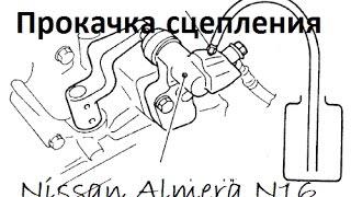видео Ремонт Ниссан Альмера (Nissan Almera) N16 - запчасти, замена, ТО, диагностика, сервис в Москве