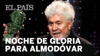 Noche de gloria para Pedro Almodóvar en los Goya