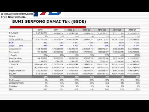 Indonesia Top Gainer 2013: Property Industry Analysis