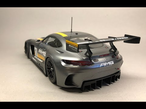 Tamiya: Mercedes AMG-GT3 Full Build Step by Step