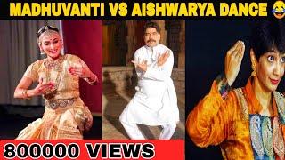 Madhuvanthi vs iswarya danush dance troll சபாஷ் சரியான போட்டி