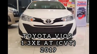 2019 Toyota Vios 1.3 XE AT (CVT) Philippines for ₱ 738,000