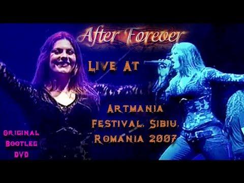After Forever Live At Artmania Festival, Sibiu, Romania (2007) Original Bootleg DVD