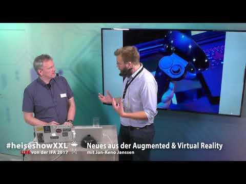 #heiseshowXXL: Neues aus der Augmented & Virtual Reality