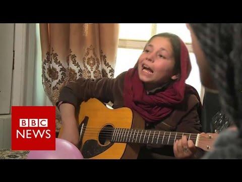 'The Miraculous Love Kids' of Kabul - BBC News
