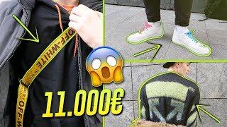 QUANTO COSTA IL TUO OUTFIT? PELLICCE GUCCI ed OFF WHITE - 11000 € di outfit