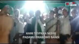 Sholawat Untuk Dukung Prabowo Sandi Oleh Ulama Dan Umat