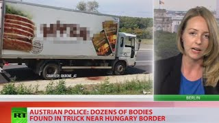 Refugee horror: Lorry full of dead bodies found on highway in Austria