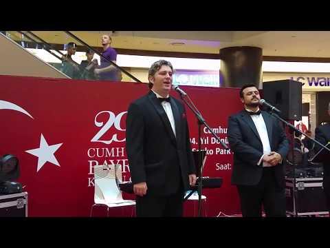 Gaziantepte Opera Dinletisi - Yer Sankopark Avm - Tarih 29 Ekim 2017 - Cumhuriyet Bayramı