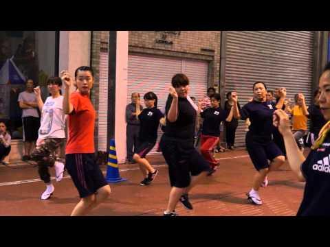 阿波踊り 阿呆連の練習風景2014