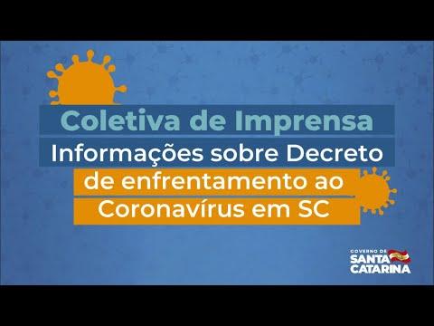 16/03 - AO VIVO Coletiva de Imprensa - Live da manhã #Coronavírus
