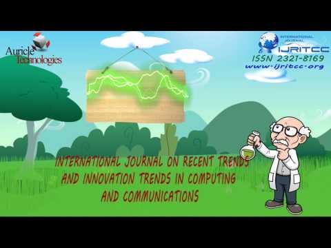 International Journal IJRITCC with Scientific Journal Impact Factor 5.098