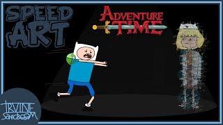 Adventure Time Speed Art - Goodbye, Finn.