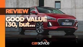2018 Hyundai i30 Premium petrol review смотреть
