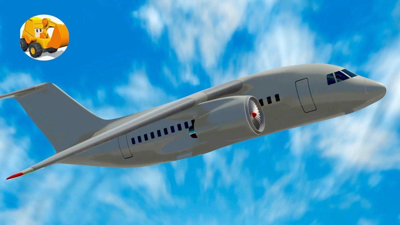Aviones Para Niños Aprende Los Números Con Aviones Aeropuerto