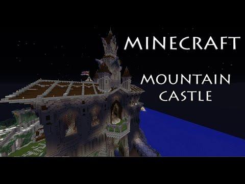 Minecraft - Mountain Castle - YouTube