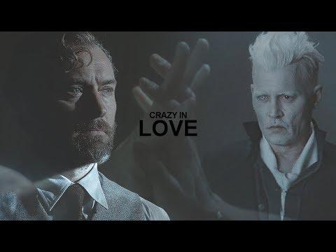 Albus Dumbledore & Gellert Grindelwald || Crazy In Love