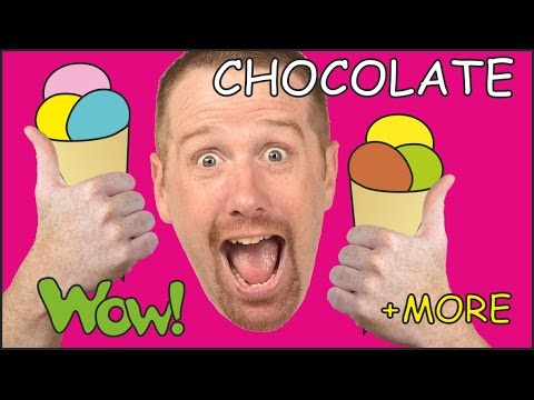 Chocolate Cake, Ice Cream + MORE English Short Stories for Children from Steve and Maggie | Wow